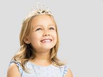 gullig liten princess royaltyfri foto