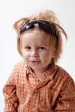 gullig liten stående för pojke Royaltyfri Foto