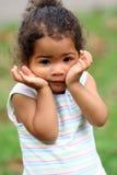 gullig litet barn Royaltyfria Foton