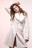 gullig modemodell Royaltyfria Bilder