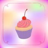 gullig muffin Royaltyfria Bilder
