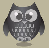 gullig owl Arkivfoton