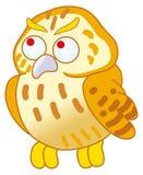 gullig owl Arkivbilder