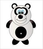 Gullig panda.   Royaltyfria Foton