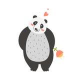 gullig panda Royaltyfri Foto