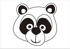 gullig panda för björn Arkivfoto