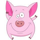 gullig pig Royaltyfri Fotografi
