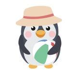 gullig pingvin Royaltyfri Fotografi