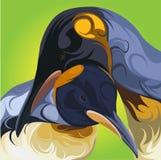 gullig pingvinvektor Royaltyfri Fotografi