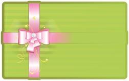 gullig pink för bow Royaltyfria Foton