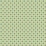 Gullig pixelated modell med enkla geometriska former Arkivbilder