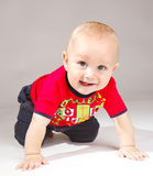 gullig pojke Royaltyfri Bild