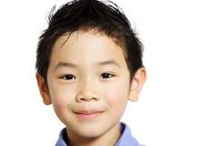 gullig pojke arkivfoto