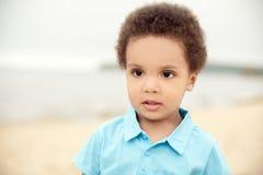 gullig pojke Royaltyfria Bilder