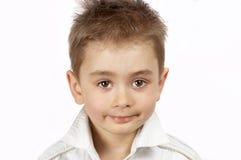 gullig pojke little royaltyfri fotografi