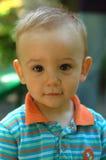 gullig pojke little Arkivfoto