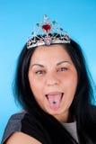gullig princess royaltyfri fotografi