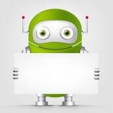 Gullig robot Royaltyfri Foto