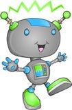 gullig robotvektor Royaltyfri Foto