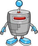 gullig robotvektor Royaltyfria Bilder