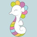 gullig seahorse Royaltyfri Foto