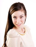 Gullig seende tonåring Royaltyfria Foton