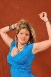 gullig sexig kvinna 72 Fotografering för Bildbyråer