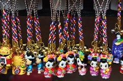 Gullig souvenir från Asakusa Japan Arkivfoto
