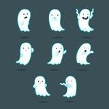 Gullig spöke 1 vektor illustrationer