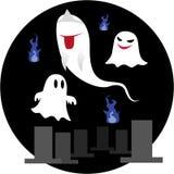 gullig spöke Arkivfoton