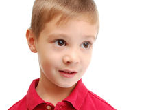 gullig stående för barn Arkivfoto