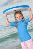 Gullig surfare Royaltyfria Foton