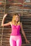 Gullig teen flicka Royaltyfri Fotografi