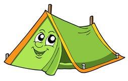 gullig tent stock illustrationer