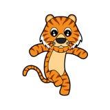 gullig tiger Royaltyfri Foto