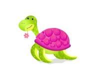 gullig toysköldpadda Arkivfoton