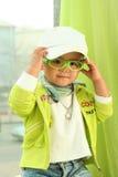 gullig unge för porslin royaltyfri bild