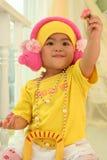 gullig unge för porslin royaltyfri foto
