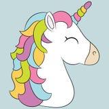 gullig unicorn Royaltyfri Foto