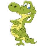 Gullig vänlig krokodil Royaltyfri Foto