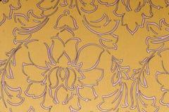 gullig wallpaper för stakethusmodell Royaltyfri Bild