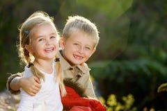 gulliga barn royaltyfria foton