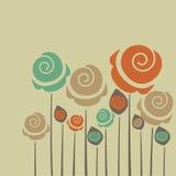 Gulliga blommor Arkivfoton