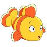 Gulliga clownfish Royaltyfri Foto