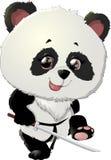 Gulliga illustrationer för pandabjörn Fotografering för Bildbyråer