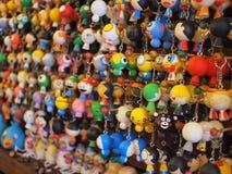 Gulliga keychains Royaltyfri Fotografi