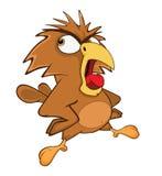 Gulliga Owl Cartoon Character royaltyfri illustrationer