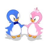 Gulliga pingvin Royaltyfri Foto