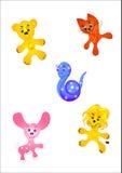 gulliga s toys för barn Royaltyfria Foton