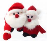 gulliga santa toys Royaltyfria Foton